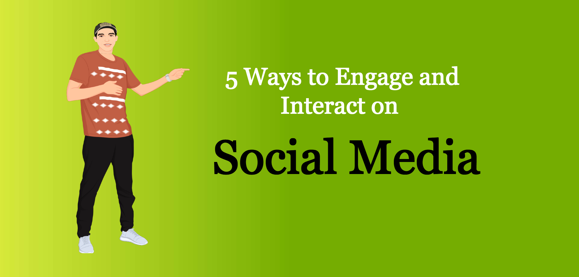 5 ways to engage and interact on social media