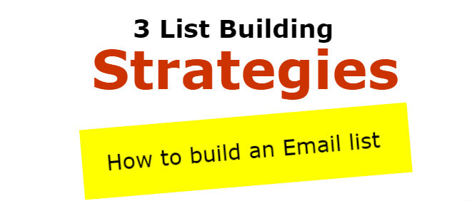 how to grow your email list (3 list building strategies)how to grow your email list