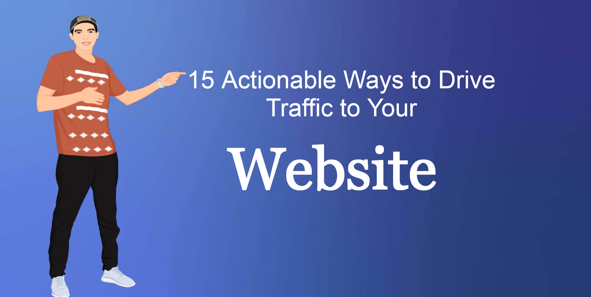 how to get traffic to my website
