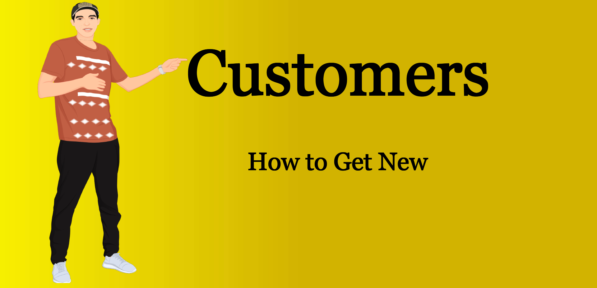 how to get new customers